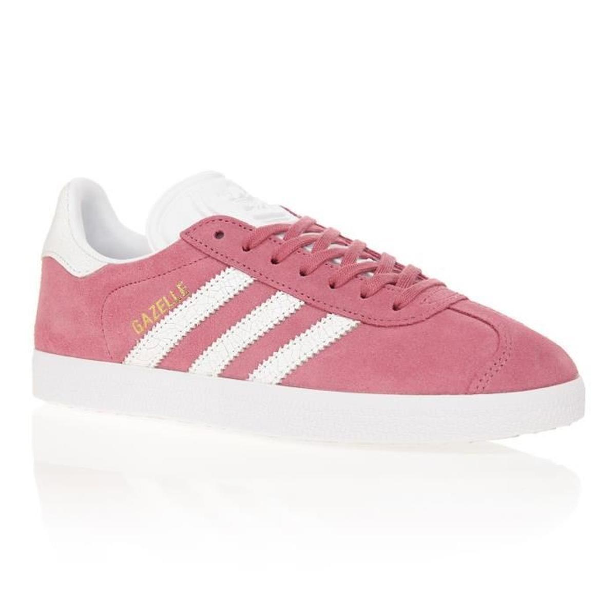 Vente de adidas gazelle rose pale pas cher Soldes