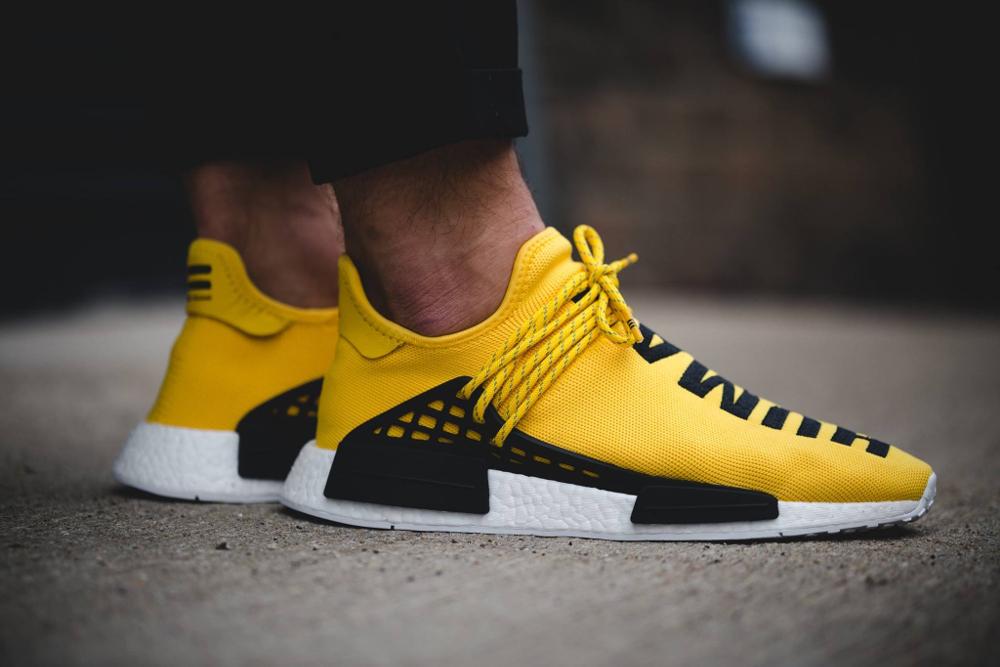 human race adidas jaune online