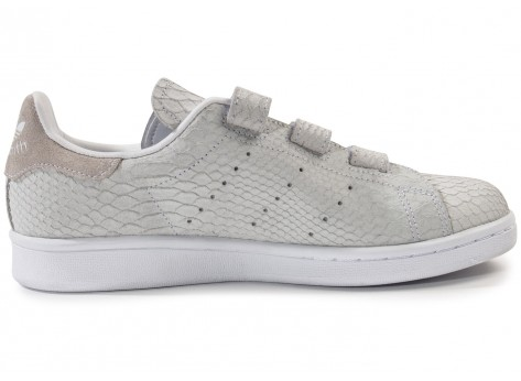 adidas stan smith velcro grise