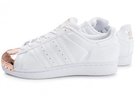 adidas superstar 80s metal blanc