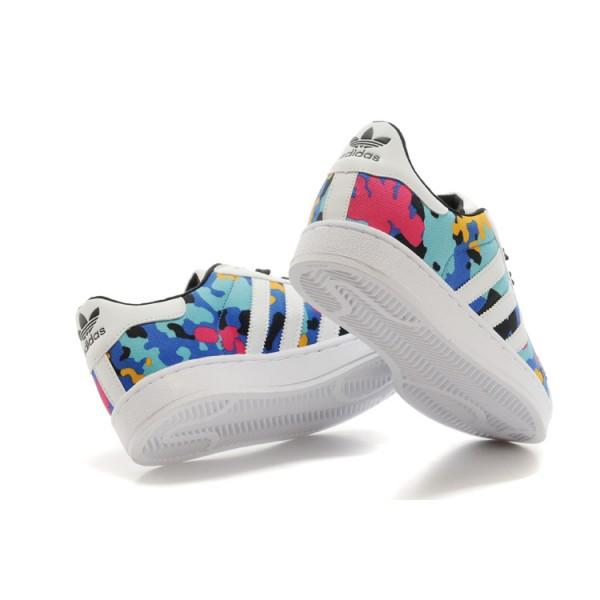 Adidas Superstar Baskets bleu homme pas cher   Espace des
