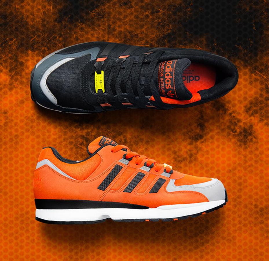 adidas torsion orange