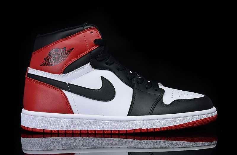 air jordan noir et rouge blanche