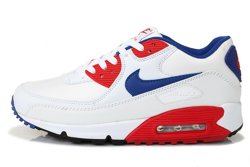 air max 90 bleu blanc rouge