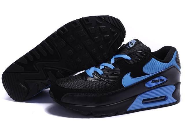 air max 90 noir et bleu