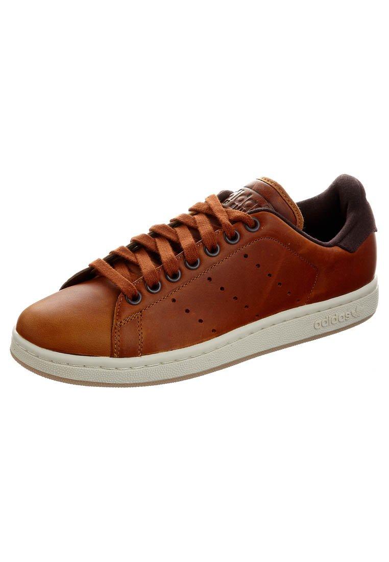 basket adidas cuir marron