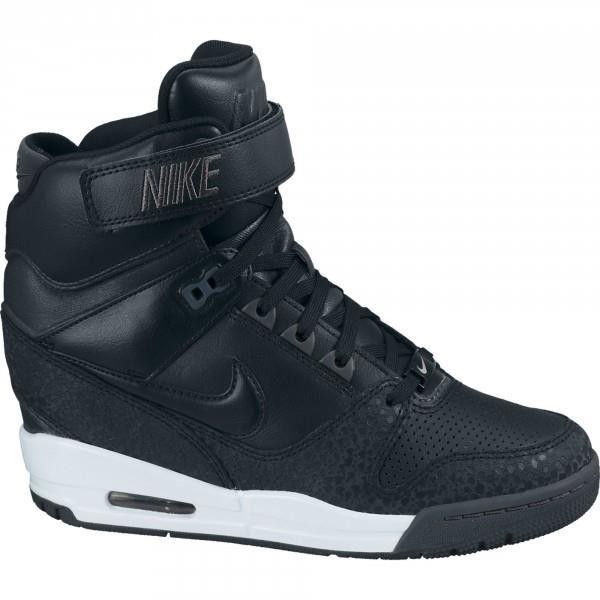 Nike Air Revolution Sky Hi Compensée Noire Chaussures