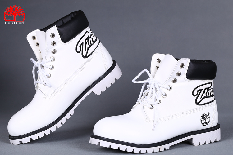 boots timberland homme blanche