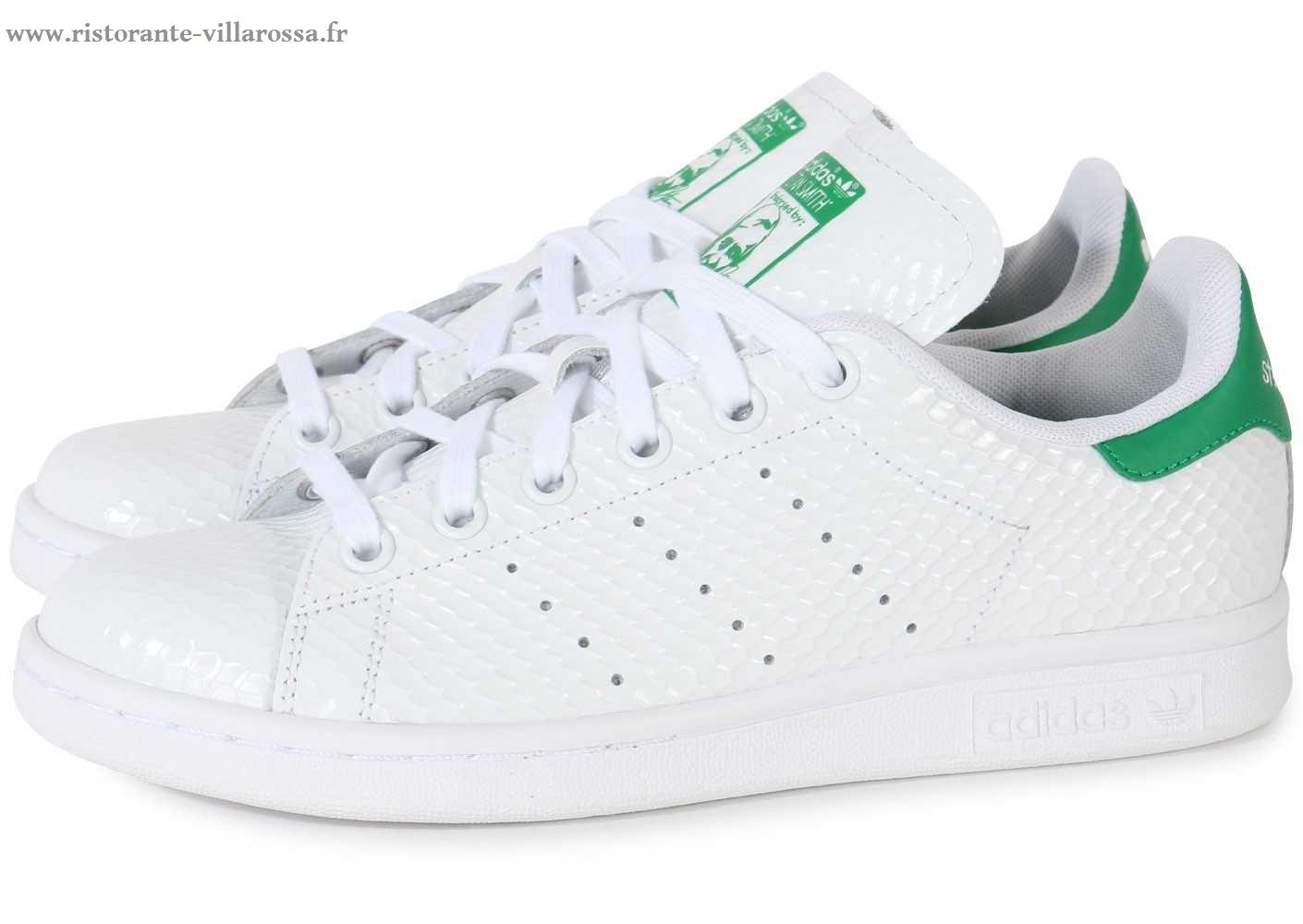 chaussure adidas femme verte