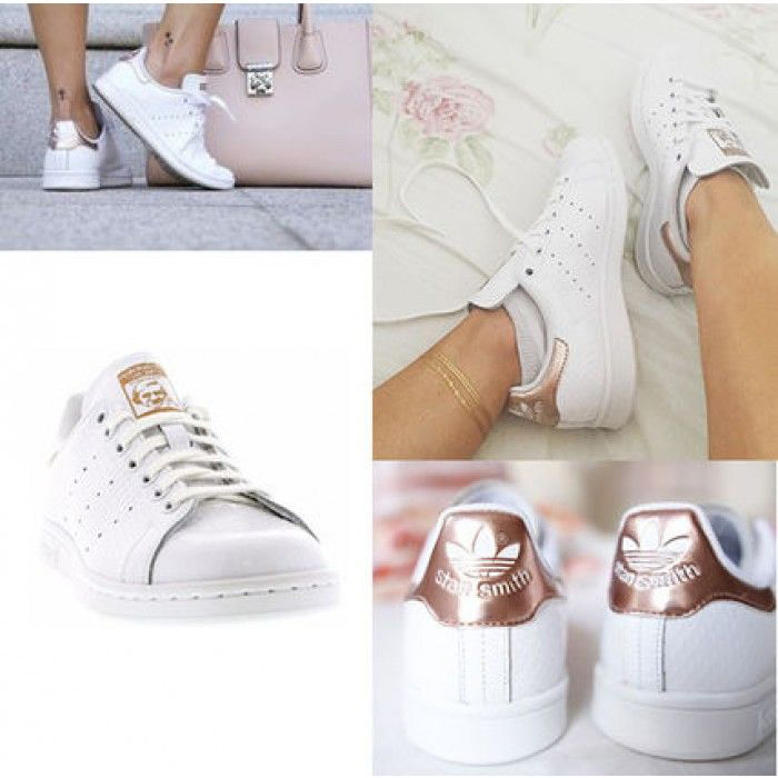 stan smith femme rose gold pas cher